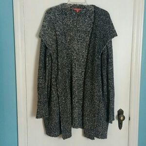 Modcloth Open Front Oversize Cardigan XL